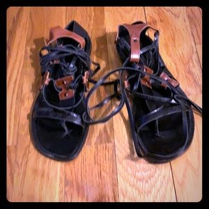Pre- owned gladiator sandals